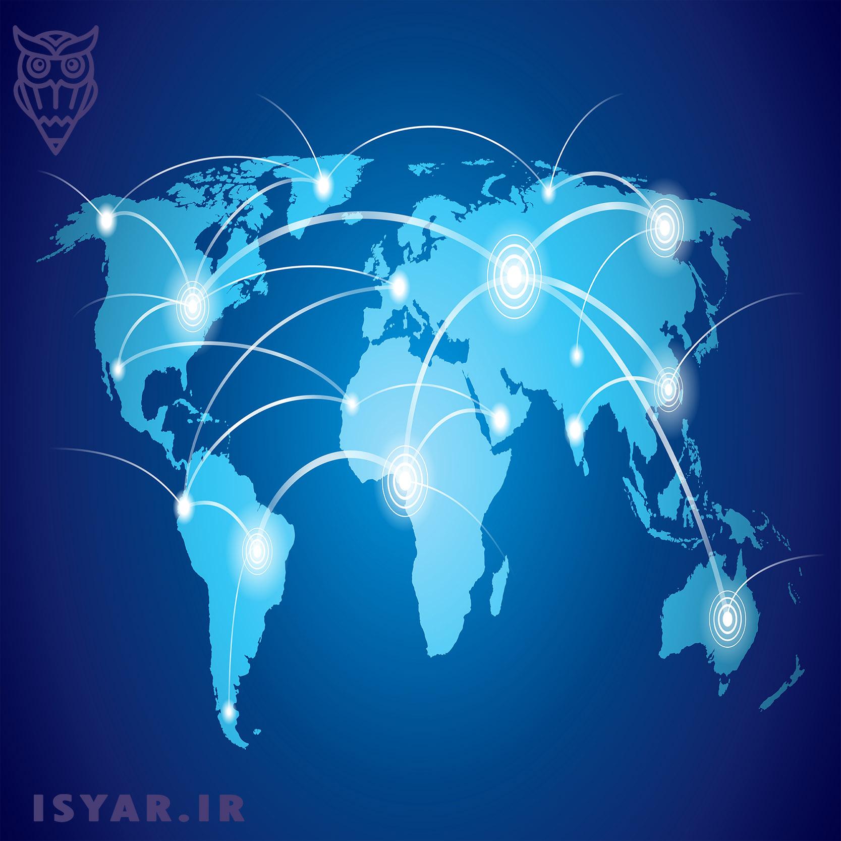 ارتباط دیگر زبان ها با انگلیسی