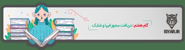 مراحل ترجمه و چاپ کتاب - گام هفتم : دریافت مجوز فیپا و شابک